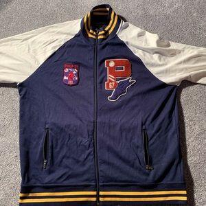 Ralph Lauren Varsity P-Wing Fleece Track Jacket